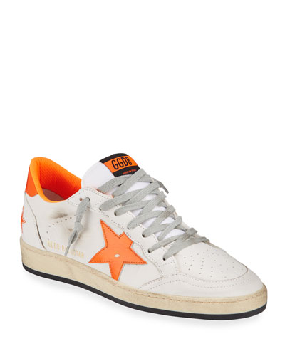 Men's Ball Star Leather Sneakers