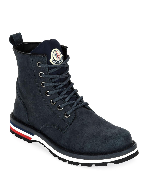 Moncler Men's New Vancouver Suede Boots
