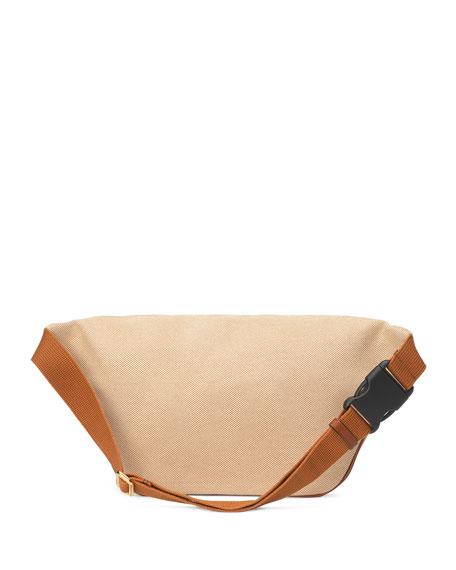 Gucci Men's Signature Web Vintage Canvas Belt Bag