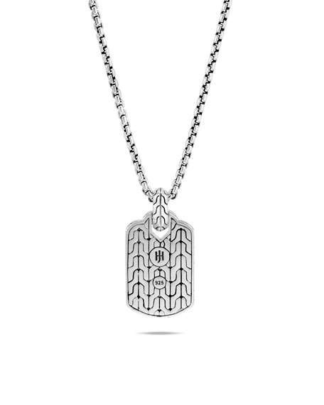 John Hardy Men's Asli Classic Chain Link Pendant Necklace
