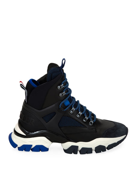 Moncler Men's Tristan High-Top Hiker Sneakers