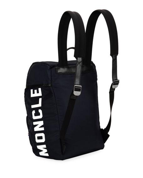 Moncler Men's  Chute Logo Backpack