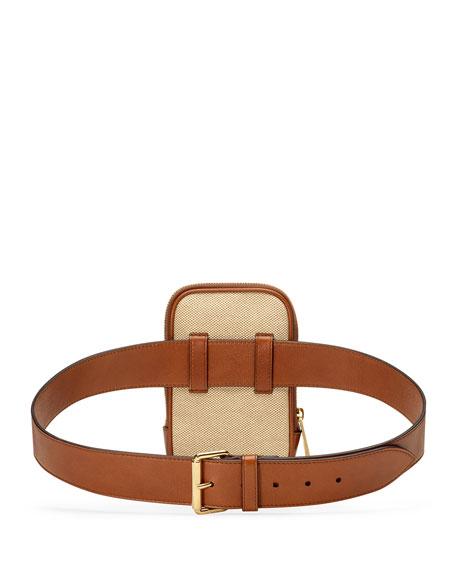Gucci Men's Vintage Canvas Web Belt Bag