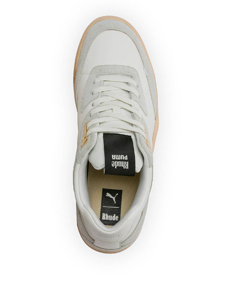 Puma Men's Palace Guard Rhude Two-Tone Leather Sneakers