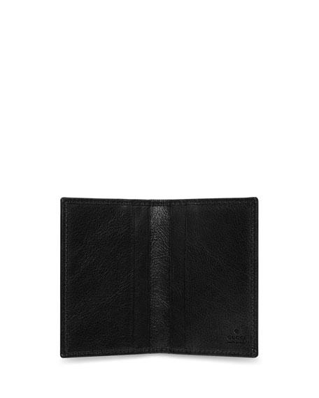 Gucci Men's Bi-Fold Leather Card Case