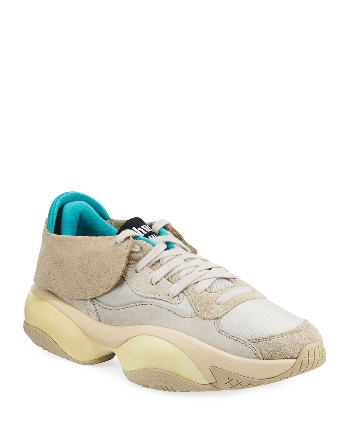 Men's Alteration Rhude Sneakers With Removable Collar by Puma
