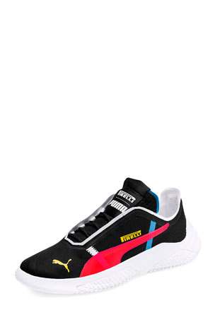 Puma Men's Replicat X Pirelli V2 Leather Sneakers