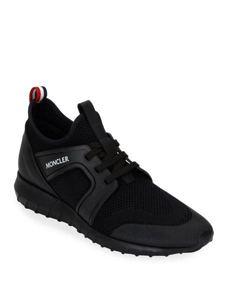 Moncler Men's Emilien Knit Stretch-Sock Sneakers