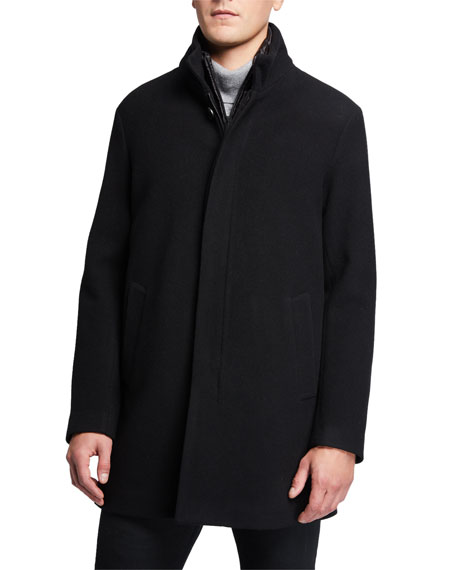 Emporio Armani Coats Men's 3-in-1 Car Coat