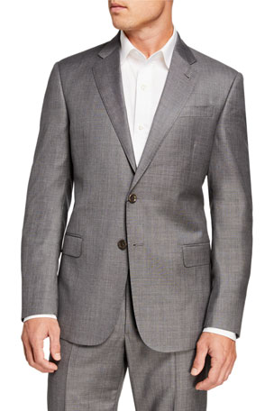 Giorgio Armani Men's Sharkskin Two-Piece Suit