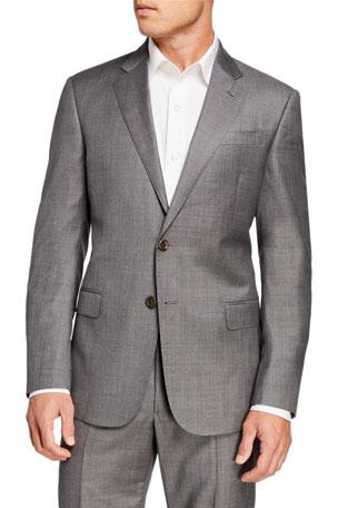 Giorgio Armani Men's Sharkskin Two-Piece Suit