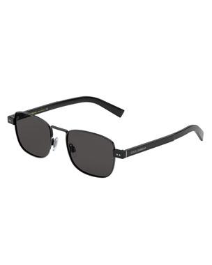43c705c0ef2b Dolce & Gabbana Men's Metal Rectangle Sunglasses
