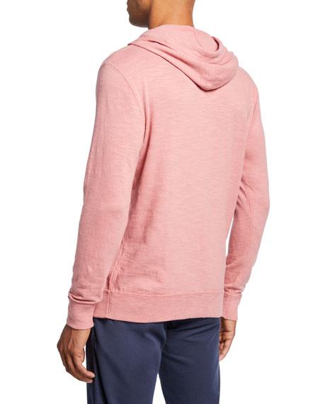 Faherty Men's Slub Cotton Pullover Hoodie