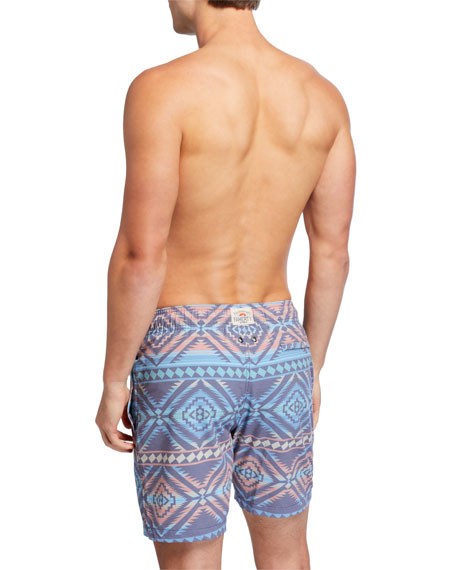 Faherty Men's Beacon Swim Trunks