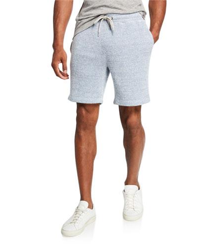 Men's Backloop Jacquard Knit Sweatshorts