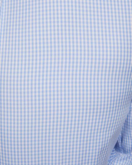 Brunello Cucinelli Men's Gingham Sport Shirt