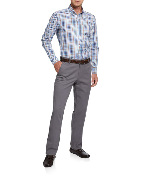 Peter Millar Men's Soft Twill Classic-Fit Pants