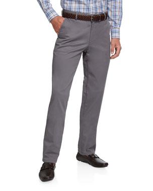361de47a Peter Millar Men's Soft Twill Classic-Fit Pants