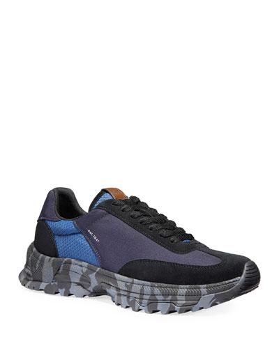 Men's Wild Beast Colorblock Running Sneakers