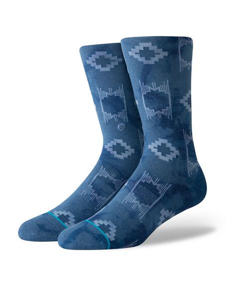 Stance Men's Shamen Tribal Pattern Socks