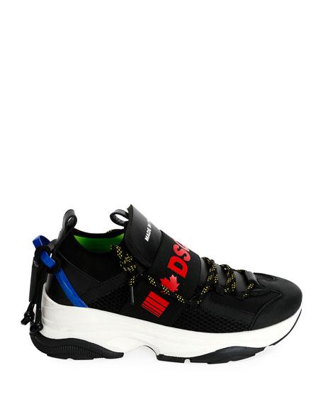 Dsquared2 Men's Logo-Banded Runner Sneakers