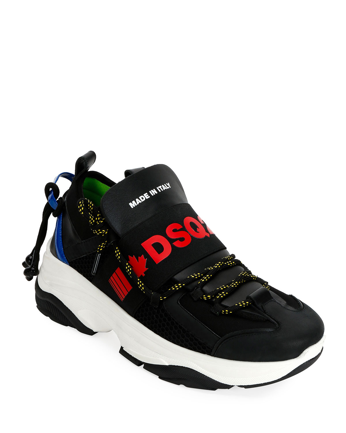 Men's Logo Banded Runner Sneakers by Dsquared2