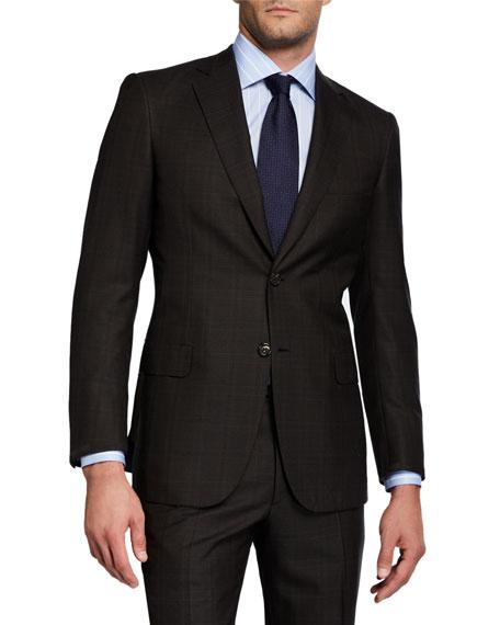 Brioni Suits Men's Two-Piece Wool Suit