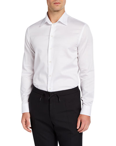 Men's Cotton Sport Shirt  White