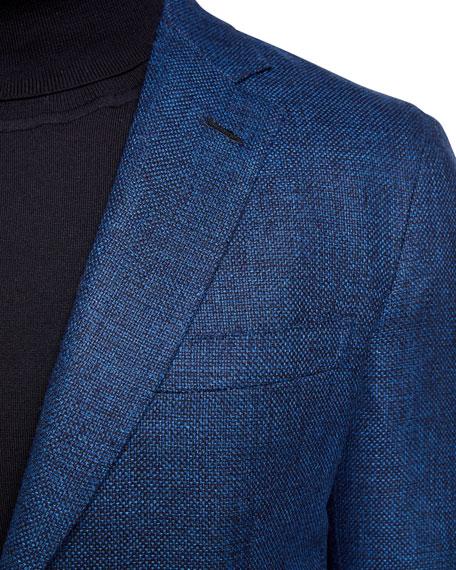 Brioni Men's High-Color Textured Two-Button Jacket