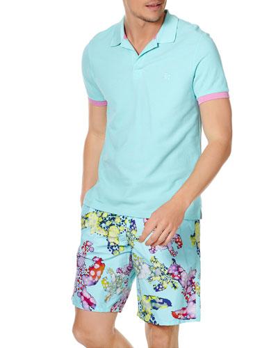 Men's Cotton Pique Polo Shirt