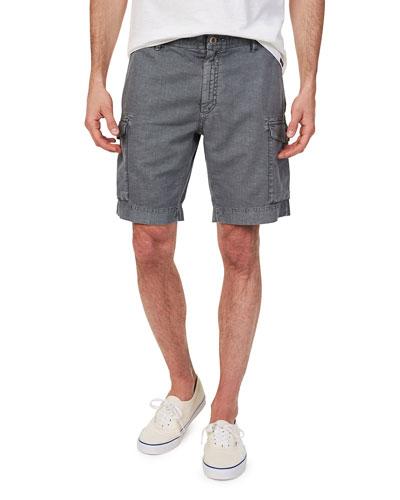 Men's Vintage Drawstring Cargo Shorts