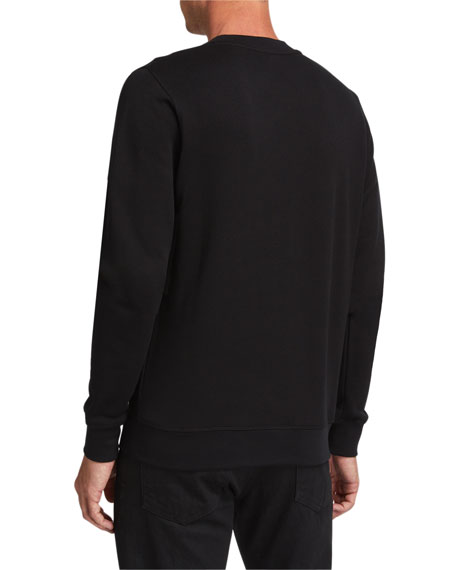 Loewe Men's Anagram Embroidered Sweatshirt