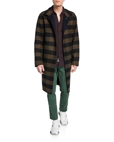 Rag & Bone Men's Brent Reversible Wool Coat