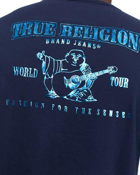True Religion Men's Buddha In Water Graphic T-Shirt