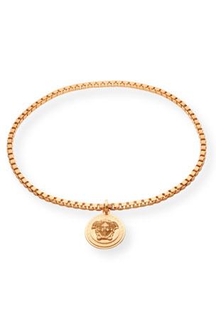 Versace Men's Medusa Head Box Chain Necklace
