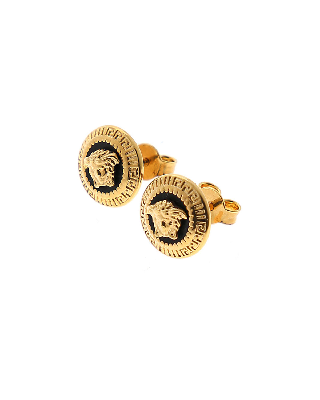 378e2db71 Versace Men's Medusa Head Stud Earrings | Neiman Marcus