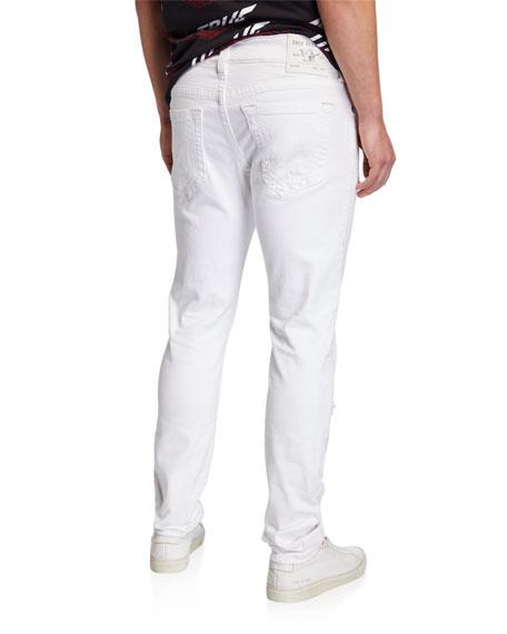 True Religion Men's Rocco Distressed Skinny Jeans