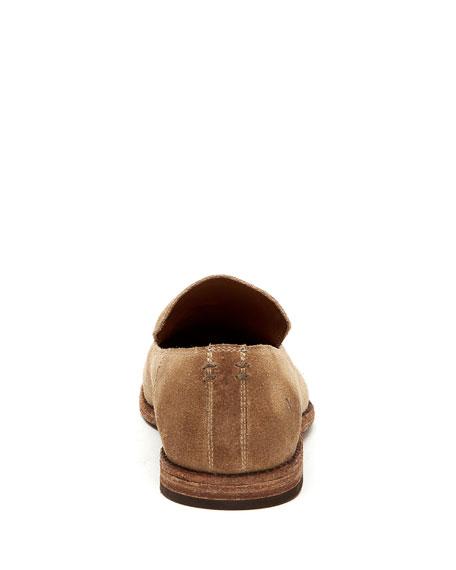 Frye Men's Chris Venetian Suede Slip-On Loafers