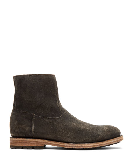Frye Men's Bowery Distressed Suede Ankle Boots