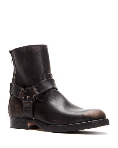 Men's John Addison Leather Harness Boots