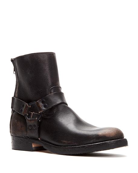 Frye Men's John Addison Leather Harness Boots