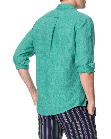 Rodd & Gunn Men's Roverbend Faded Linen Sport Shirt