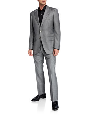 02fa070a Men's Designer Suits at Neiman Marcus