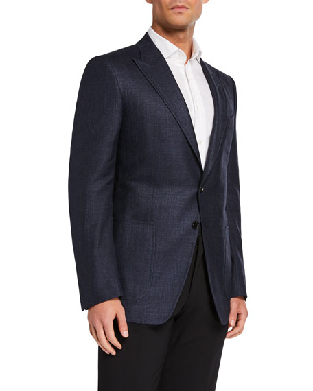 TOM FORD Men's O'Connor Hopsack Two-Button Jacket