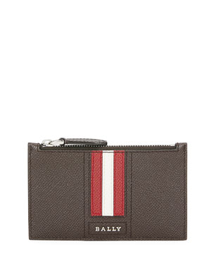 6eeead4a2 Bally Men's Tenley Trainspotting-Stripe Zip Pouch