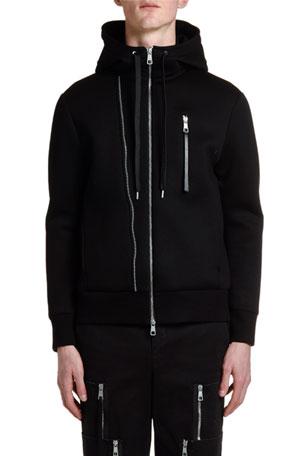 Mens One Eyeball-1 Hooded Sweatshirt Fashion Athletic Pullover Tops Black