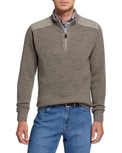 Men's 1/4-Zip Sweater