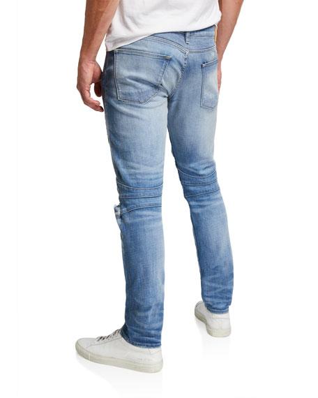Hudson Men's The Blinder Biker Knee-Rip Jeans
