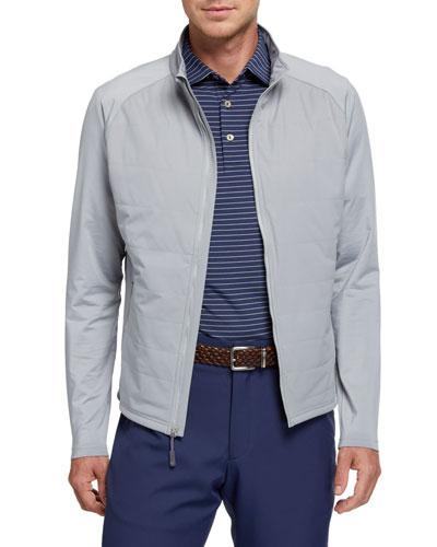 Men's Hybrid Zip-Front Jacket