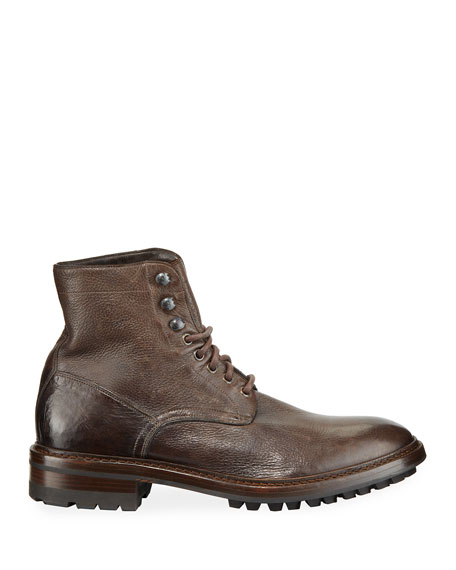 Frye Men's Greyson Leather Moto Boots